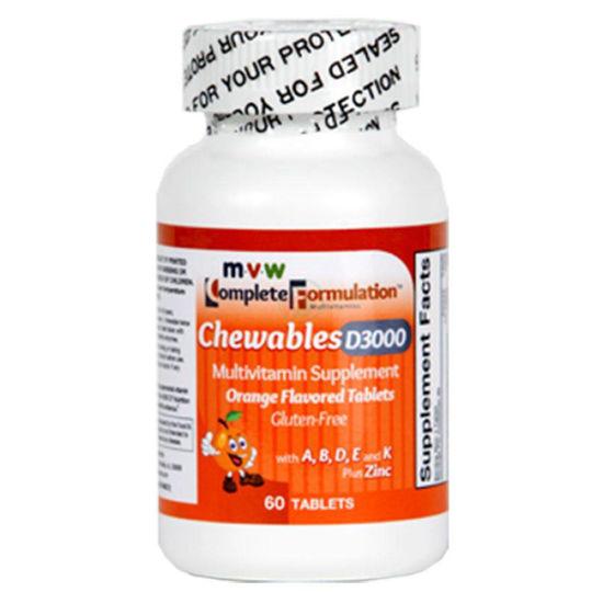 MVW Complete Formulation multivitamini - okus pomaranča, 60 kapsul
