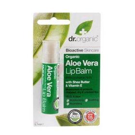 Slika Dr.organic balzam za ustnice aloe vera, 5,7 mL