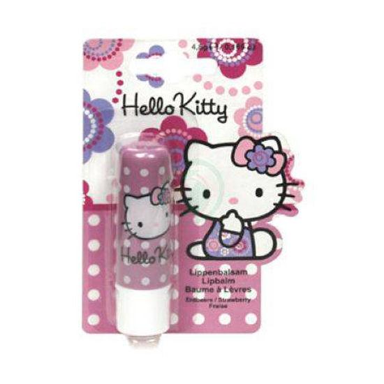 Hello Kitty balzam za ustnice z okusom jagode, 4,8 g