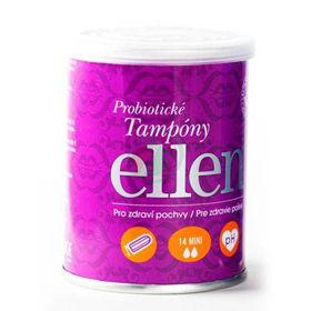 Slika Ellen Mini tamponi za šibko menstruacijo, 14 tamponov