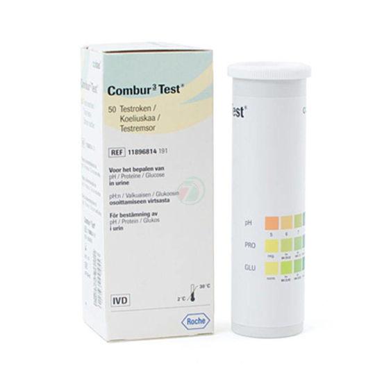 Combur 3 urinski testni trak, 50 trakov