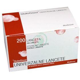 Slika Glukognost univerzalne lancete, 200 lancet