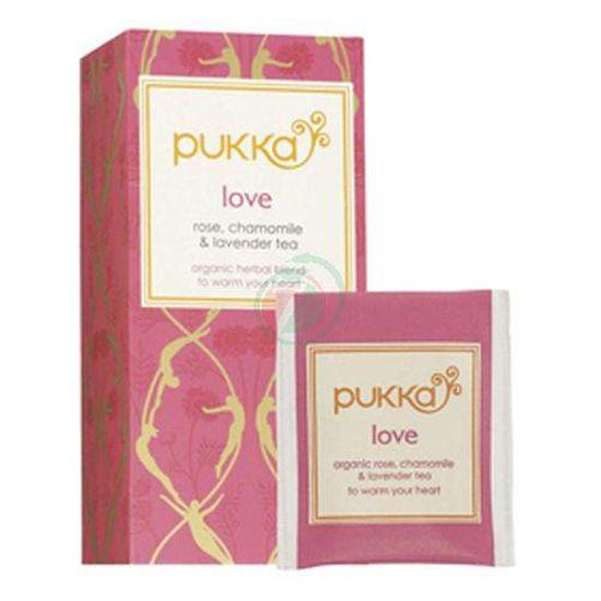 Pukka love organski čaj v vrečkah, 36 g