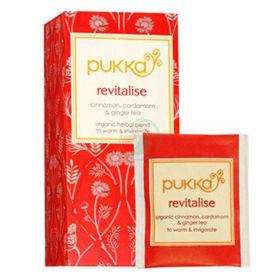 Slika Pukka revitalise organski čaj v vrečkah, 36 g