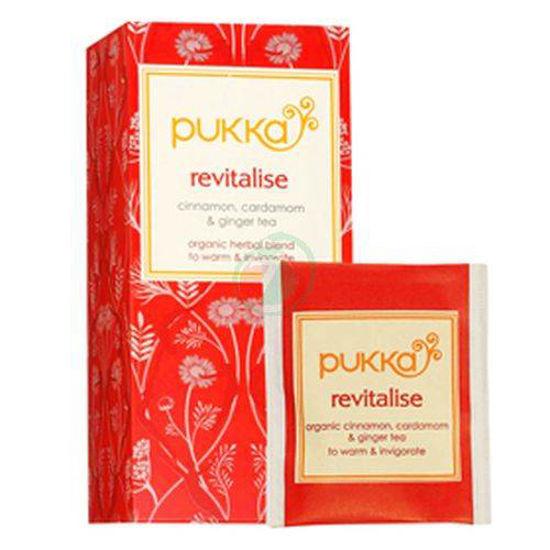 Pukka revitalise organski čaj v vrečkah, 36 g