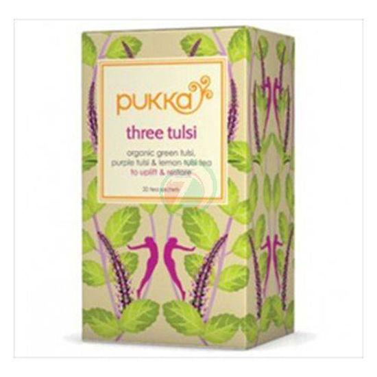 Pukka three tulsi organski čaj v vrečkah, 36 g