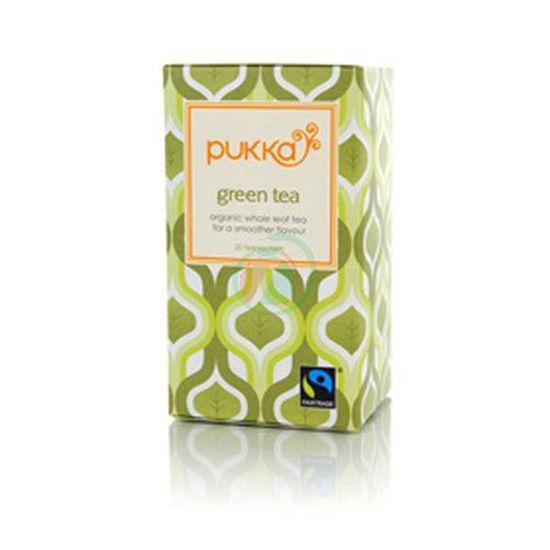 Pukka zeleni organski čaj v vrečkah, 36 g