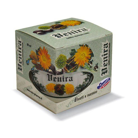 Venira zeliščno vitaminsko mazilo, 80 mL