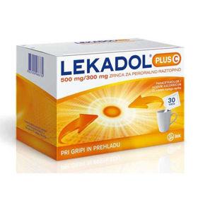 Slika Lekadol plus C zrnca za peroralno raztopino, 30 vrečk