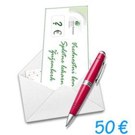 Slika Darilni bon Spletne lekarne Žužemberk v vrednosti 50 €