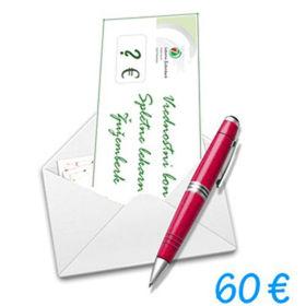 Slika Darilni bon Spletne lekarne Žužemberk v vrednosti 60 €