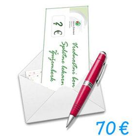 Slika Darilni bon Spletne lekarne Žužemberk v vrednosti 70 €