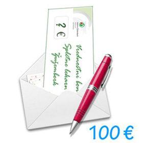 Slika Darilni bon Spletne lekarne Žužemberk v vrednosti 100 €