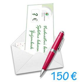 Slika Darilni bon Spletne lekarne Žužemberk v vrednosti 150 €