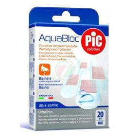 Slika Pic Aquabloc obliži, 20 mešanih obližev