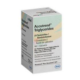 Slika Accutrend testni lističi za merjenje trigliceridov, 25 kom