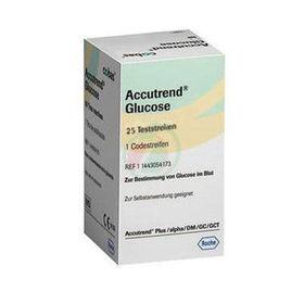 Slika Accutrend testni lističi za merjenje glukoze, 25 kom
