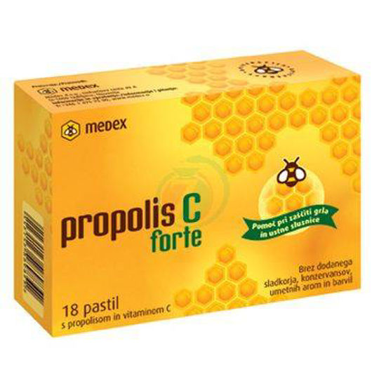 Propolis C forte, 18 pastil