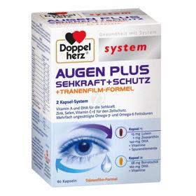 Slika Doppelherz System Augen Plus kapsule za moč vida, 60 kapsul