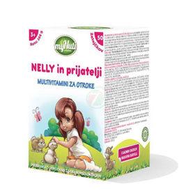 Slika MyNuti Nelly in prijatelji multivitamini za otroke, 166 g
