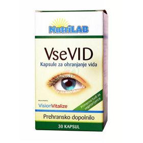 Slika Nutrilab VseVID, 30 vegetarijanskih kapsul