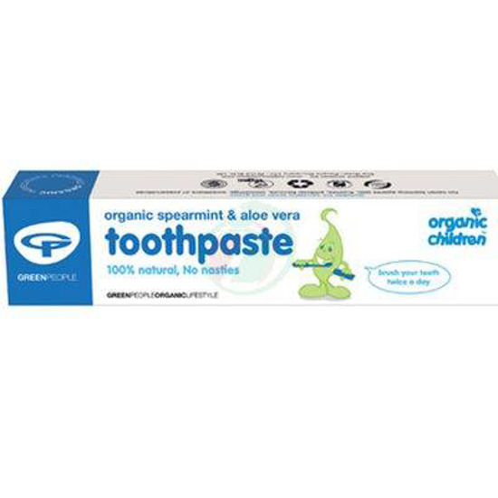 Green people otroška zobna pasta zelena meta, 50 mL