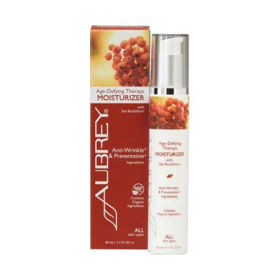 Slika Aubrey Organics Age-Defying Therapy vlažilna krema za vse tipe kože, 50 mL