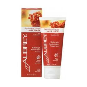 Slika Aubrey Organics Age-Defying Therapy AHA maska za vse tipe kože, 89 mL