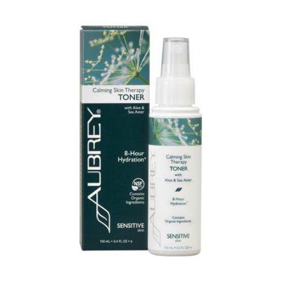 Aubrey Organics Calming Skin Therapy brezalkoholni tonik za obraz, 237 mL
