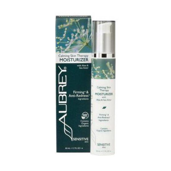 Aubrey Organics Calming Skin Therapy vlažilna krema za obraz, 50 mL
