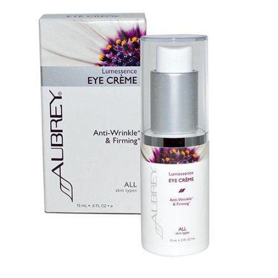 Aubrey Organics Lumessence očesni serum/krema, 15 mL