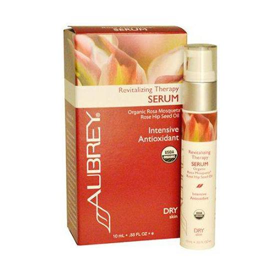 Aubrey Organics Revitalizing Therapy serum, 10 mL