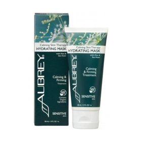 Slika Aubrey Organics Calming Skin Therapy vlažilna maska, 89 mL
