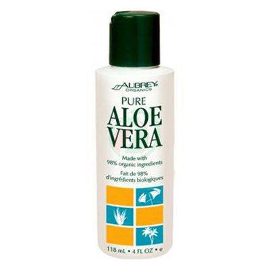 Aubrey Organics Pure Aloe alojin sok, 118 mL