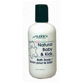 Slika Aubrey Organics Natural Baby&Kids otroška kopel, 237 mL