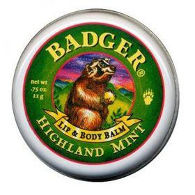 Slika Badger mazilo za ustnice in telo Highland Mint, 21 g