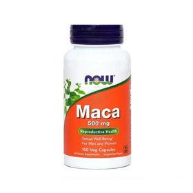 Slika Now maca 500 mg kapsule, 100 kapsul