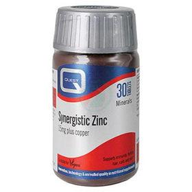 Slika Quest Sinergijski cink 15 mg z bakrom, 30 tablet