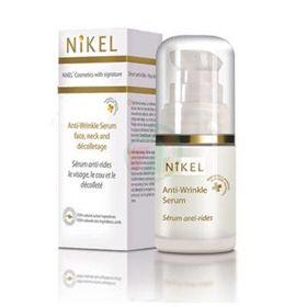Slika Nikel LUX serum proti gubam obraz, vrat in dekolte alpska roža, 15 mL