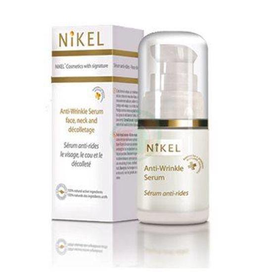 Nikel LUX serum proti gubam obraz, vrat in dekolte alpska roža, 15 mL