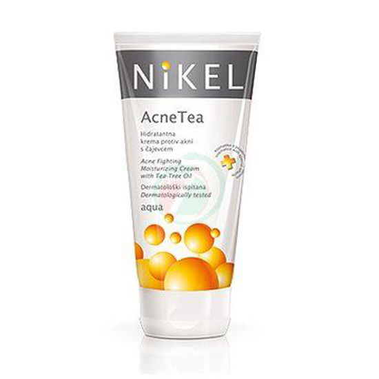 Nikel Acne tea krema proti aknam s čajevcem Aqua, 50 mL
