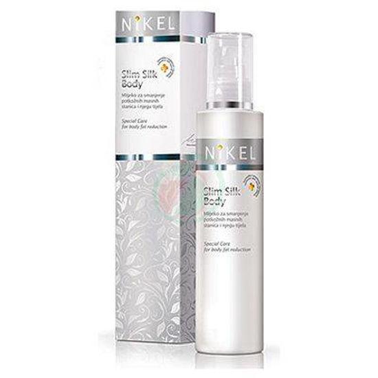 Nikel Slim Silk Body mleko za zmanjšanje maščobnih celic, 200 mL