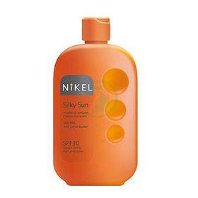 Slika Nikel Silky Sun mleko za sončenje F30, 1 kom