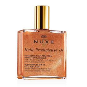 Slika Nuxe Huile Prodigieuse OR suho olje z leskom za vsestransko uporabo, 100 mL