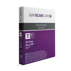 Slika BapscarCare T tanka silikonska obloga 5x7 cm, 1 obloga