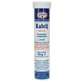 Slika Kruger Kalcij šumeče tablete, 20 tablet