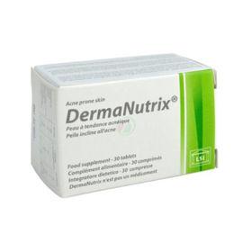 Slika DermaNutrix za kožo nagnjeno k aknam, 30 tablet