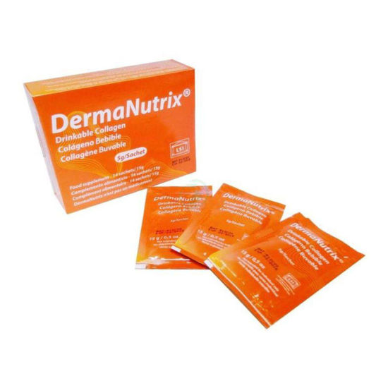DermaNutrix gel s kolagenom, 14x15 g