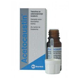 Slika Acetocaustin tekočina za odstranjevanje bradavic, 0,5 mL