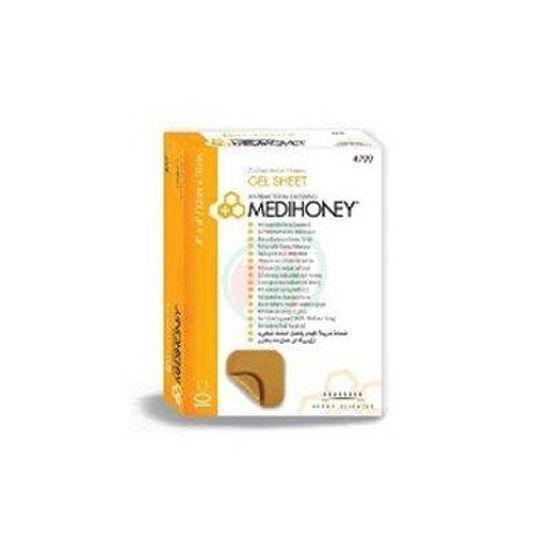 Medihoney gel sheet obloga 5 x 5 cm, 10 oblog
